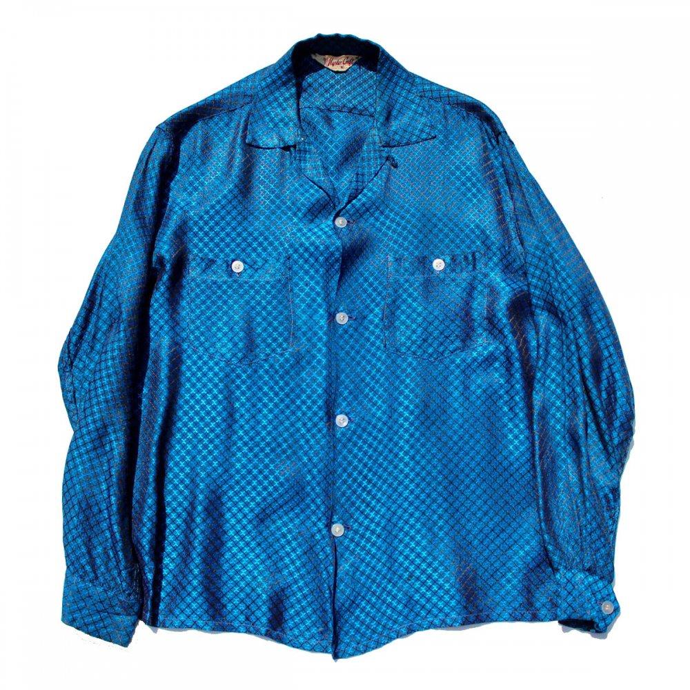 古着 通販 ヴィンテージ 開襟 シルク シャツ【Master Craft】【Late-1950's】Vintage Open Collar Shirts