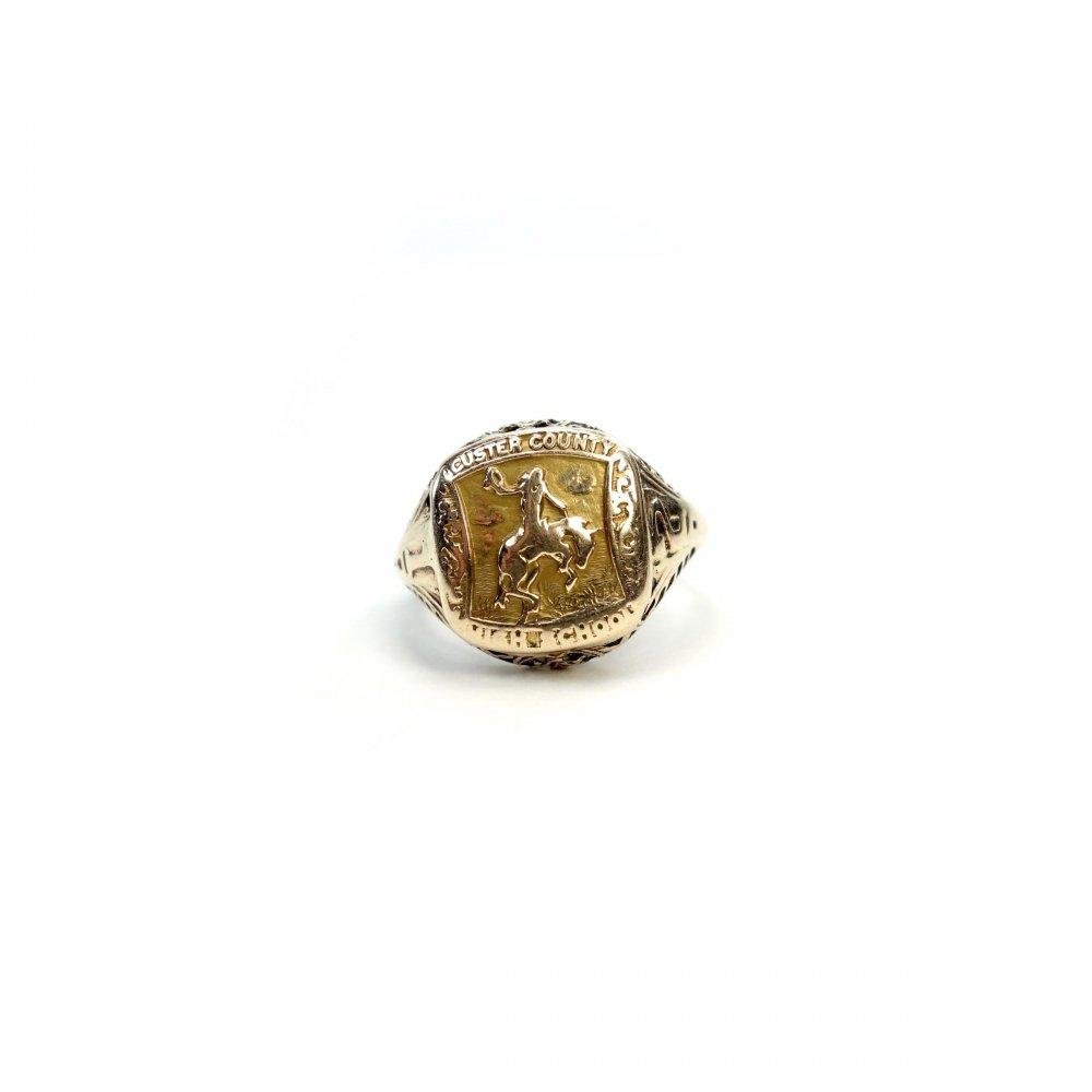 古着 通販 カレッジリング【1920s-】【10Kt Gold】Vintage College Ring