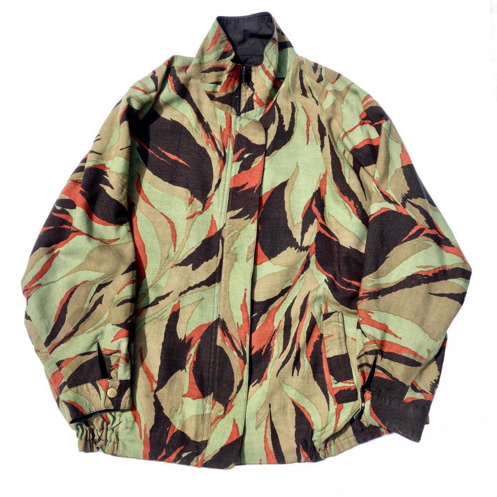 古着 通販 ヴィンテージ ドルマンスリーブ ジャケット【Reaf Camo】【1980's-】 Vintage Jacket