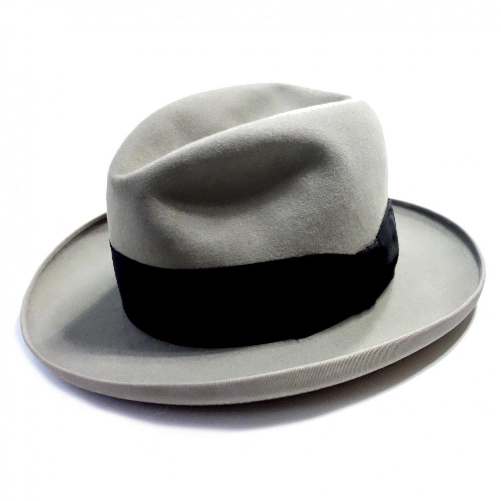 古着 通販 ドブス【Dobbs】ヴィンテージ ホンブルグ ハット【Late1950's~】Vintage Fedora Hat