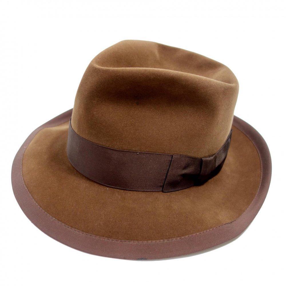古着 通販 ドブス【Dobbs】ヴィンテージ ハット【Dobbs Twenty】【Early-1960's】Vintage Fedora Hat