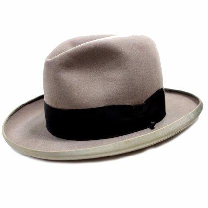 古着 通販 マロリー【Mallory】ヴィンテージ ホンブルグ ハット【Late1950's~】Vintage Fedora Hat