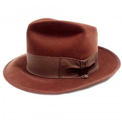 古着 通販 ボルサリーノ【Borsalino】ヴィンテージ ファー ハット【PESCA EXTRA SUPREME QUALITY】【1950s-ALESSANDRIA】Vintage Fedora Hat