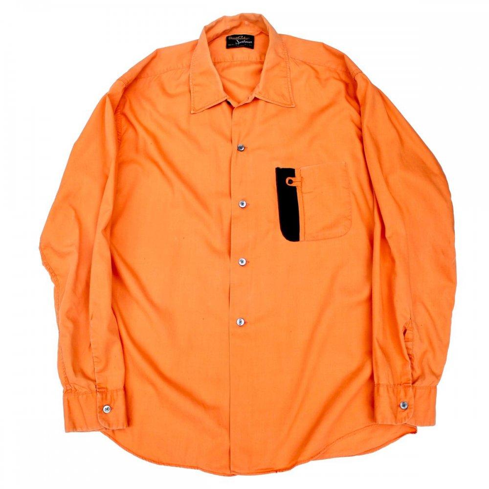 古着 通販 ヴィンテージ コットン ドレス シャツ【Dunbrooke】【Early-1970's】Special Color