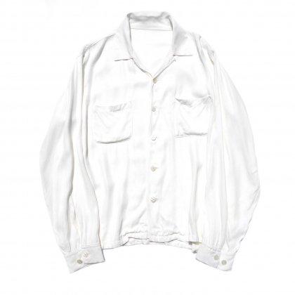 古着 通販 ピンプスティック【pimpstick】レーヨン オープンカラーシャツ