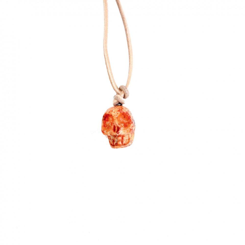 古着 通販 ヴィンテージ カラベラ ネックレス【Mexican Skull】OR