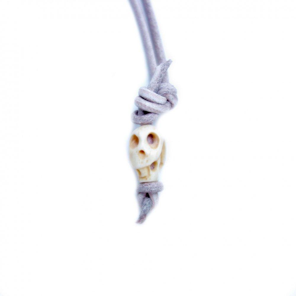 古着 通販 ヴィンテージ カラベラ ネックレス【Mexican Skull】Natural Bones (C.BE)