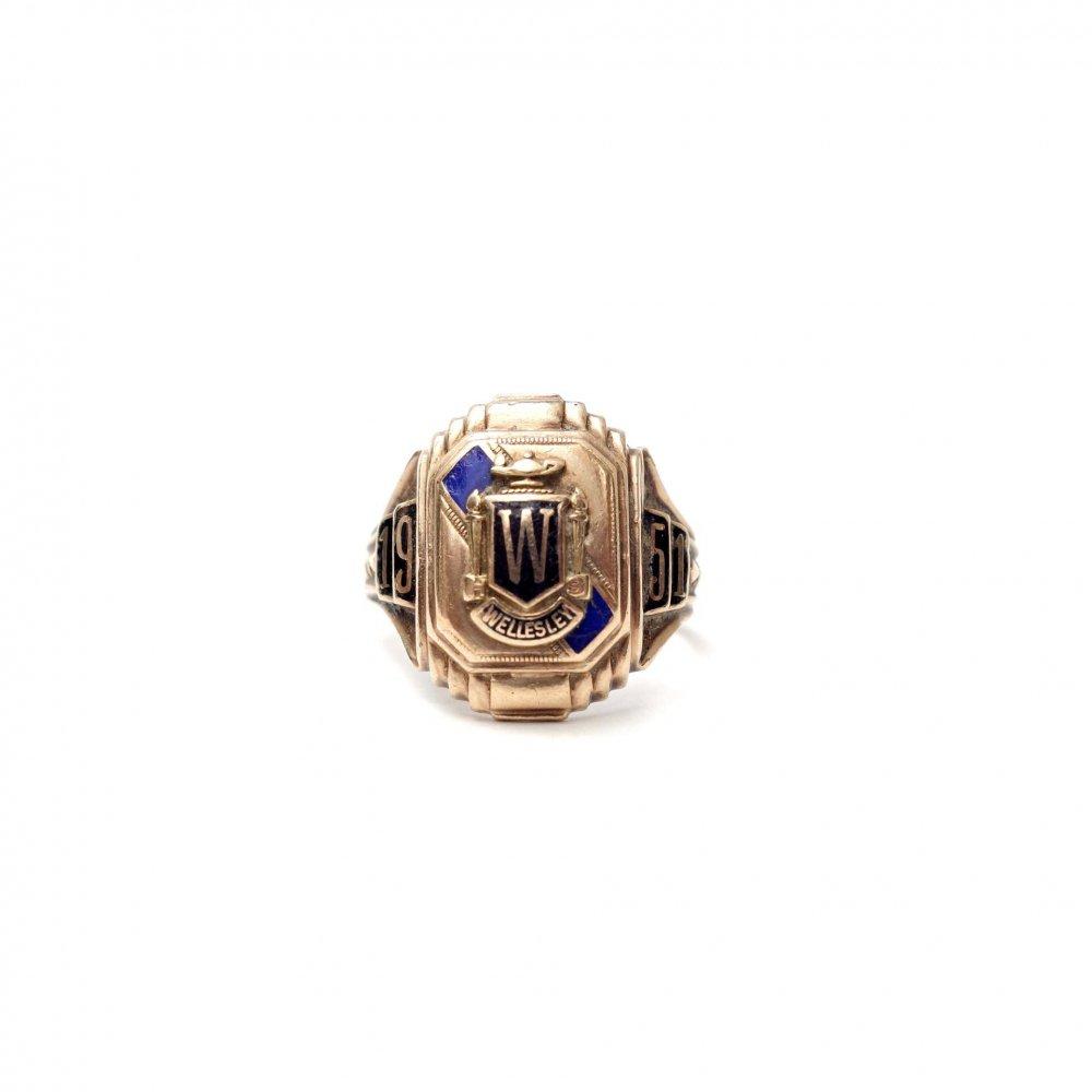 古着 通販 ヴィンテージ カレッジリング【1951s-】【MURCHISON 10kt Gold】