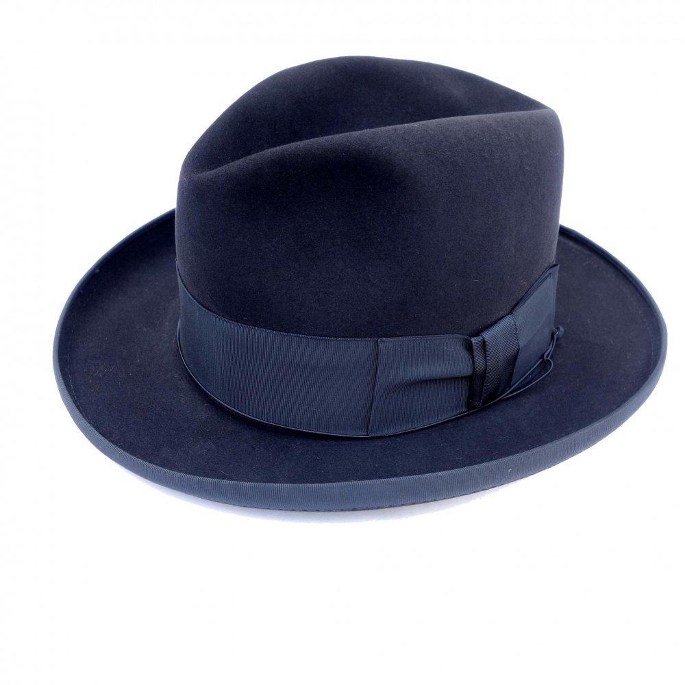 古着 通販 レジストル【RESISTOL】ヴィンテージ ホンブルグ ハット【BEAVER FIFTEEN - Kitten Finish】【1950s-】Vintage Fedora Hat
