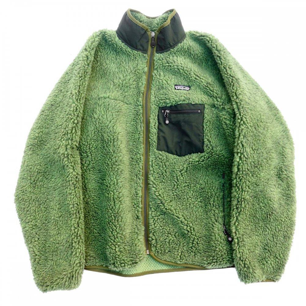 古着 通販 パタゴニア【patagonia】クラシック レトロX フリース カーディガン【F04-Green】