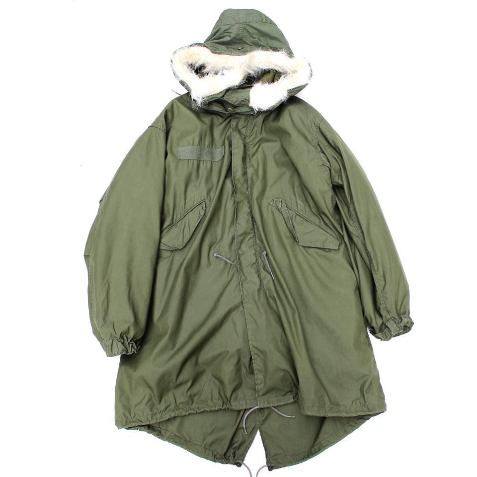 古着 通販 【U.S ARMY】ヴィンテージ M-65 パーカ モッズコート【1980's-】PARKA, EXTREME COLD WEATHER