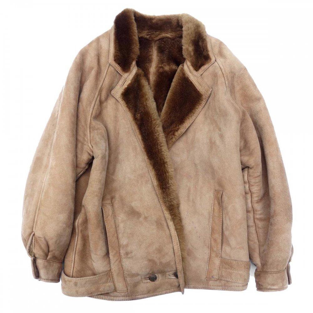 古着 通販 ヴィンテージ ムートン コート【VAKKO】【1980's-】Real Shearling