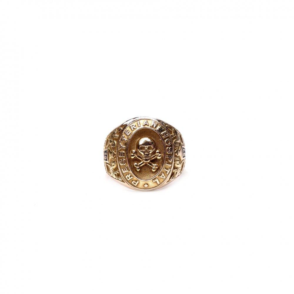 古着 通販 ヴィンテージ カレッジリング【1937s-】【10kt Gold】【Mement Mori Skull】