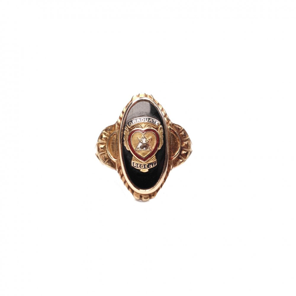 古着 通販 ヴィンテージ オッドフェローズ リング【1920s-】【10kt Gold】【B.P.O.E