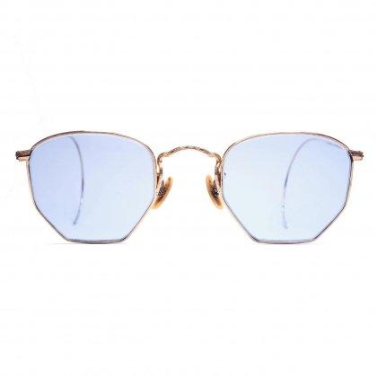 古着 通販 ボシュロム【BAUSCH & LOMB】ヴィンテージ オクタゴン 眼鏡【1940's-】パントスタイル