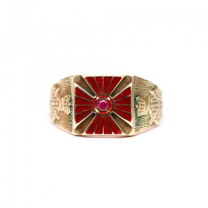 古着 通販 ヴィンテージ オッドフェローズ リング【Order of DeMolay】【1930s-】【10Kt Gold】