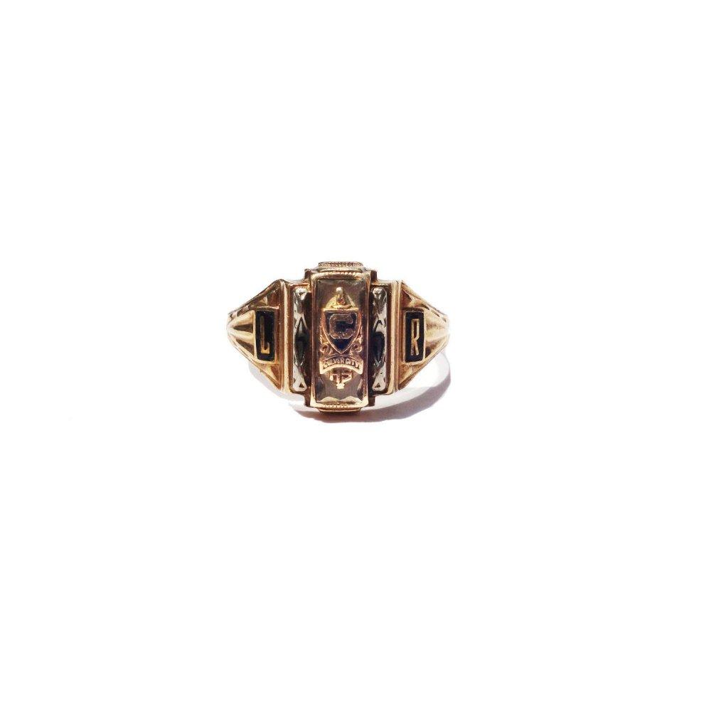 古着 通販 ヴィンテージ カレッジリング【1960s-】【JOSTEN 10kt Gold】