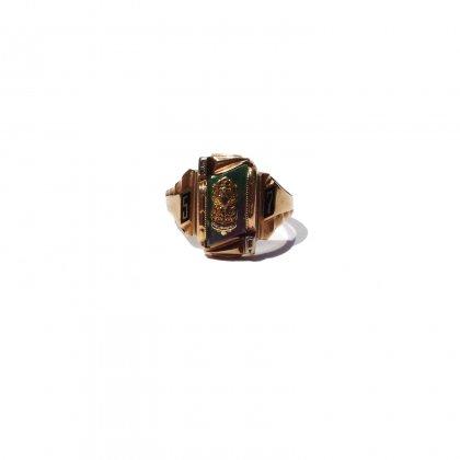 古着 通販 ヴィンテージ カレッジリング【1957s】【HJ 10kt Gold】