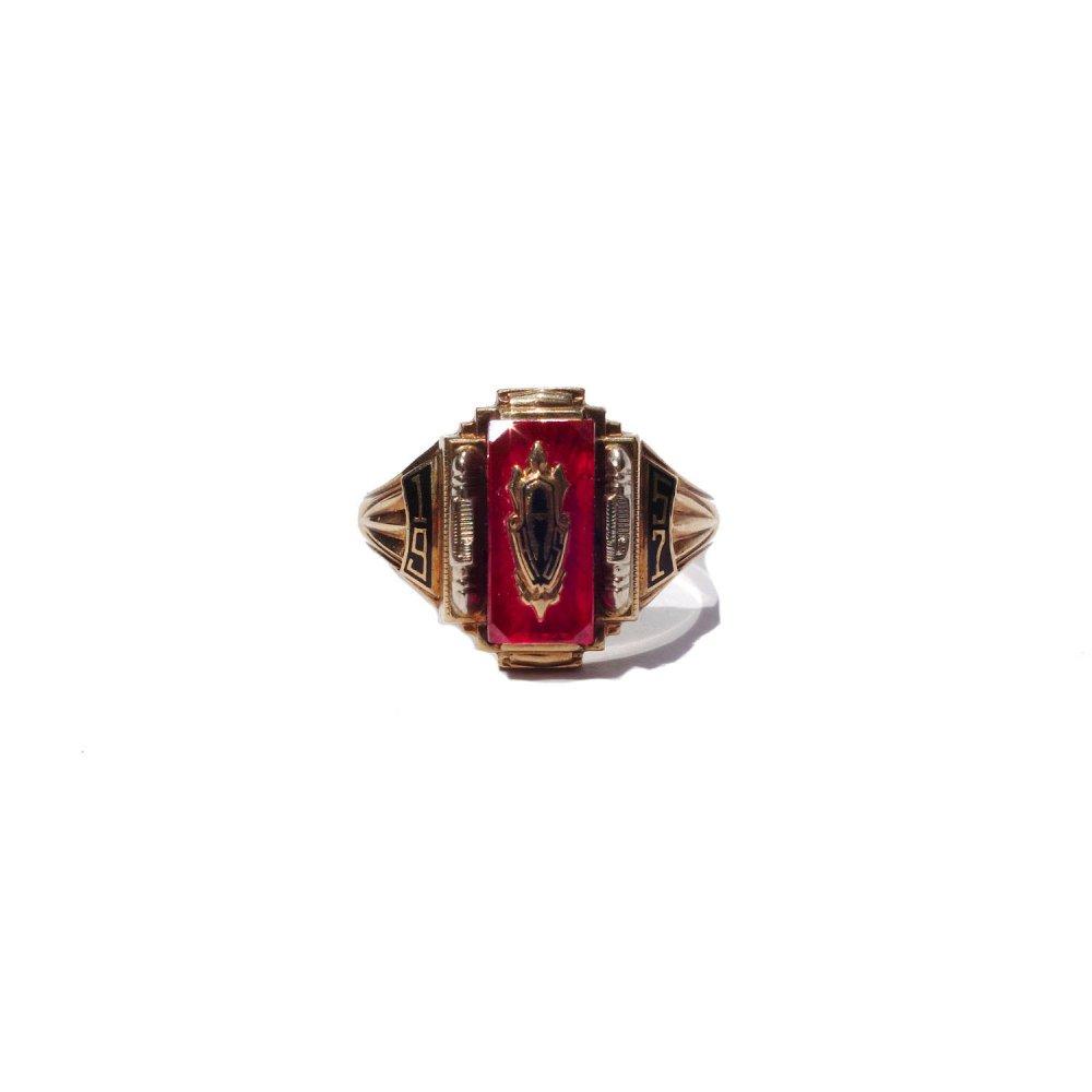 古着 通販 ヴィンテージ カレッジリング【1957s】【JOSTEN 10kt Gold】