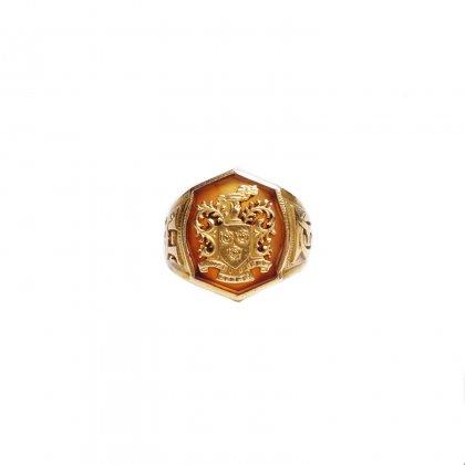 古着 通販 ヴィンテージ ティファニー スクールリング【1930's~】【14kt Gold】TIFFANY SCHOOL RING