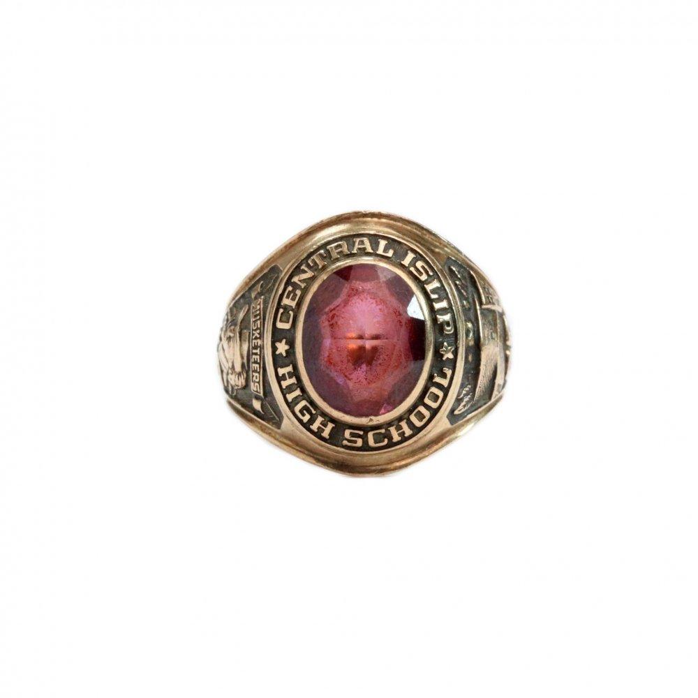 古着 通販 ヴィンテージ カレッジリング【1968s】【BALFOUR 10kt Gold】Purple Stone