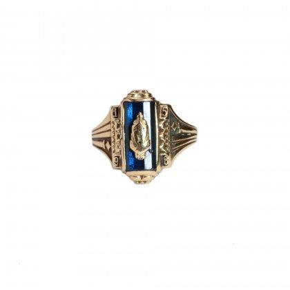 古着 通販 ヴィンテージ カレッジリング【1958s】【O'NEIL CO 10kt Gold】Blue Stone