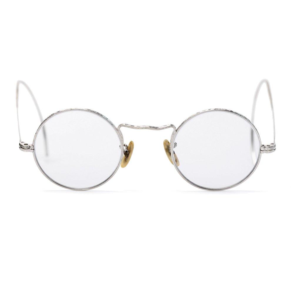 古着 通販 ヴィンテージ メガネ ボシュロム【BAUSCH & LOMB】丸眼鏡 ラウンドフレーム【1930's-】12KGF