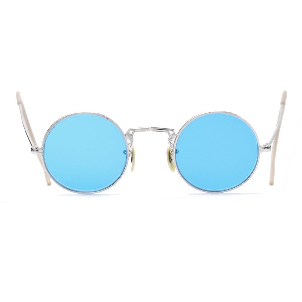古着 通販 ヴィンテージ メガネ 【Un Known】丸眼鏡 ラウンドフレーム【1930's-】12KGF