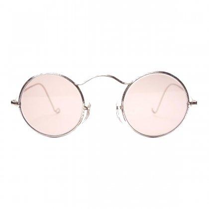 古着 通販 ヴィンテージ メガネ 【British Style】丸眼鏡 ラウンド メタル フレーム【1920's-】 9ct Gold