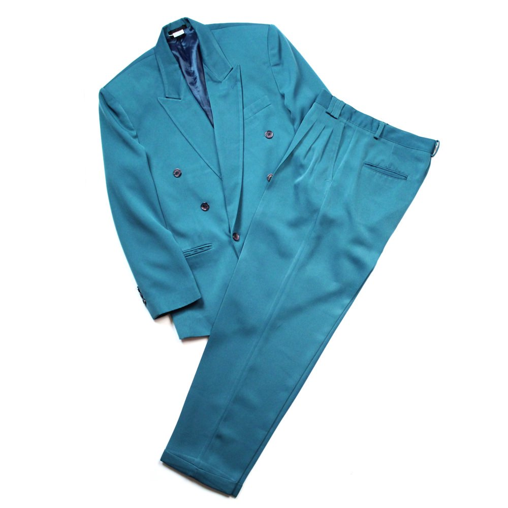 古着 通販 ヴィンテージ ダブルブレストスーツ セットアップ【1980's】Vintage Suits