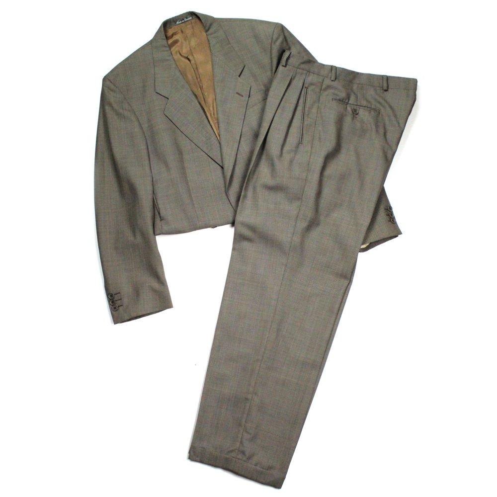 古着 通販 イヴ・サンローラン ヴィンテージ スーツ セットアップ【Yves Saint Laurent】【1980's-】ショートレングスリメイク