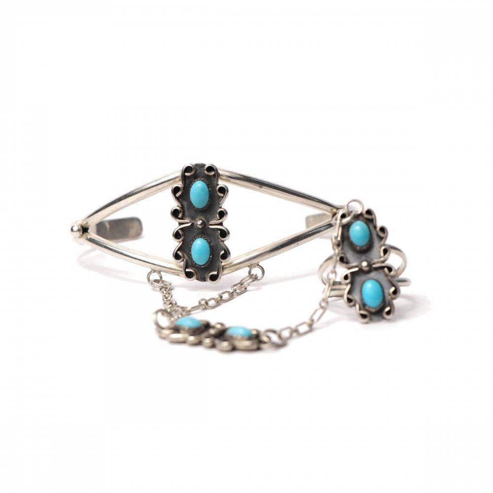 古着 通販 ナバホ Navajo ヴィンテージ シルバーバングル【STERLING】【Carlisle Jewelry - Carolyn Pollack】