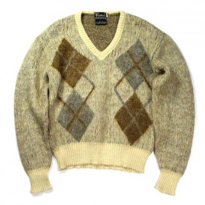 古着 通販 ヴィンテージ モヘア Vネックニット【Sears】【1960's-】Vintage Mohair Knit