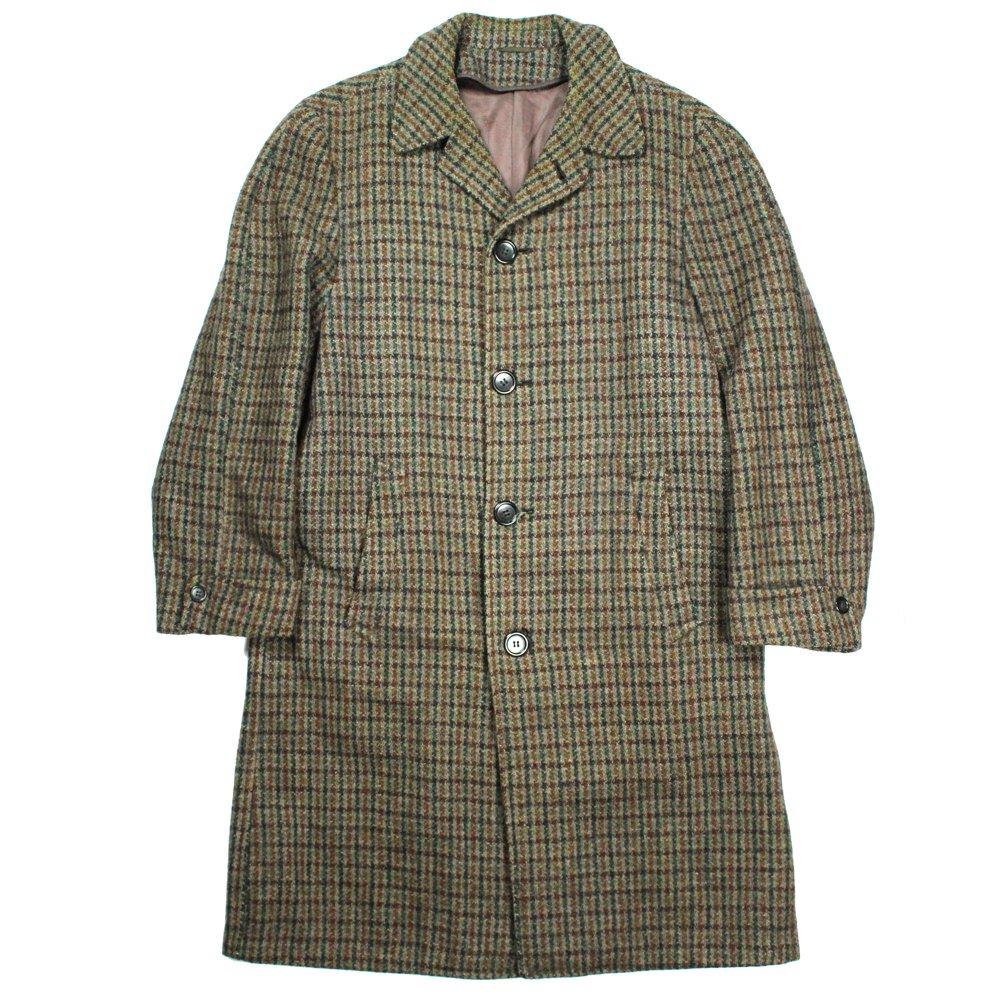 古着 通販 ハリスツイード テーラード ウールコート【Harris Tweed】【1960's-】Vintage Tailored Coat