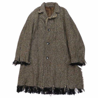 古着 通販 ヴィンテージ ウォッシュド リメイク テーラード ウールコート【Magee - Donegal Tweed】【1950's-】