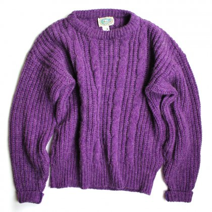 古着 通販 ヴィンテージ クルーネック ニット【1980's】Vintage Crew Neck Knit