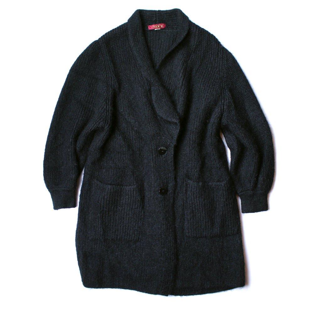 古着 通販 ヴィンテージ ニット ガウン コート【1980's】【remalon】Vintage Knit Gown Coat