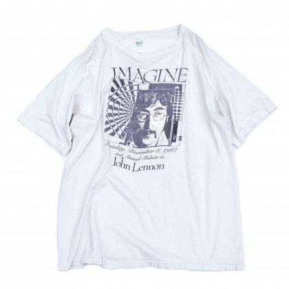 古着 通販 ジョン レノン ヴィンテージ T シャツ 【John Lennon】イマジン【imagine】【1980's-】