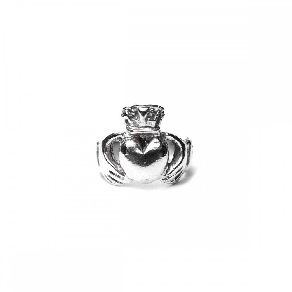 古着 通販 ヴィンテージ クラダーリング【925 Plane】Vintage Claddagh Ring