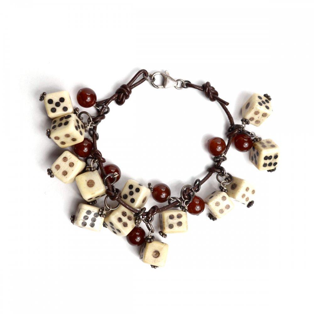 古着 通販 ヴィンテージ 象牙 ダイス ブレスレット【1950s~Gambling Amulet】