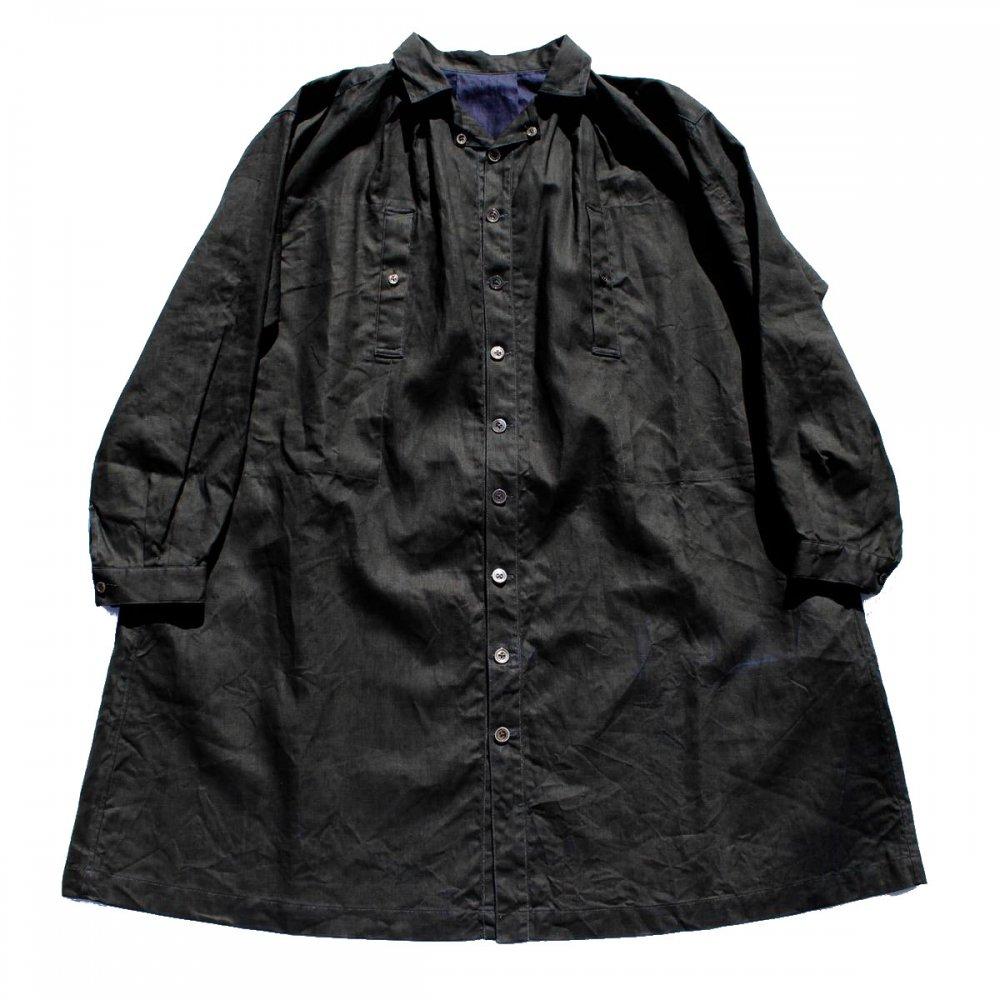 古着 通販 オルヴィスタ【ALVISTA】ビヨード スモック - ブラック インディゴ