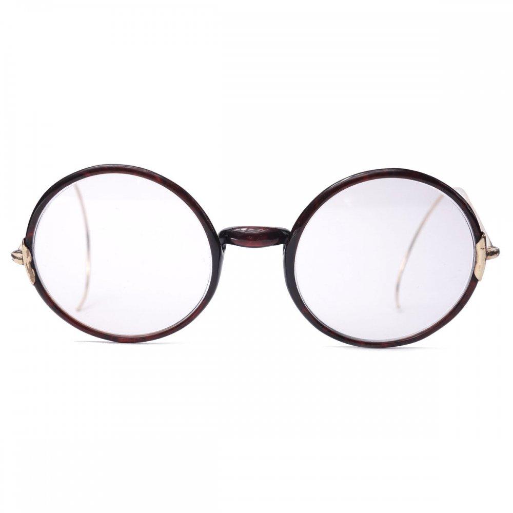 古着 通販 ヴィンテージ メガネ【WINDSOR】ラウンドフレーム【1920's-】巻セル