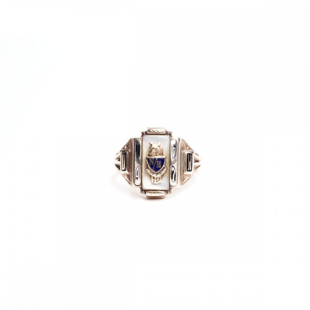 古着 通販 ヴィンテージ カレッジリング【JOSTEN 10kt Gold】【1967s-】Shell Top & GLD Emblem