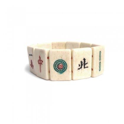 古着 通販 ヴィンテージ 麻雀 象牙 ブレスレット【1950s~Gambling Amulet】
