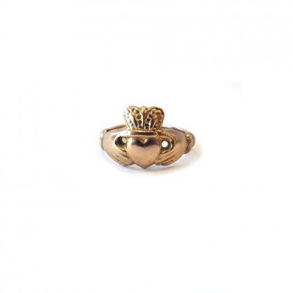 古着 通販 ヴィンテージ クラダーリング【375 GOLD】Vintage Claddagh Ring