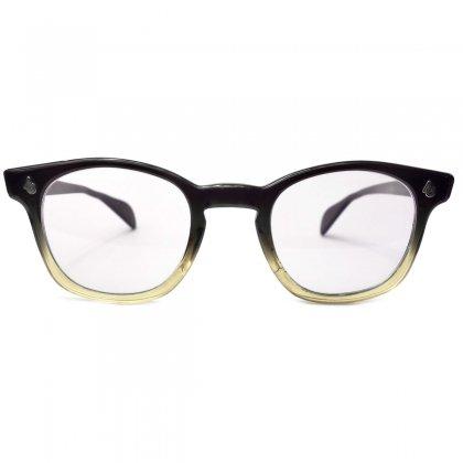 古着 通販 アメリカンオプティカル ヴィンテージ メガネ【American Optical】【1960's~】FLEXI FIT セーフティ 2 Tone