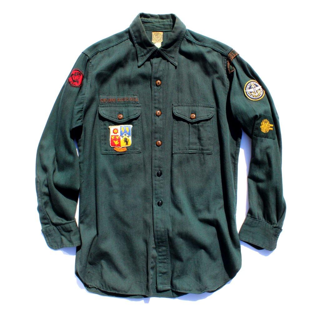 古着 通販 ヴィンテージ ボーイスカウトシャツ【1950's】Vintage Boy Scouts Shirts