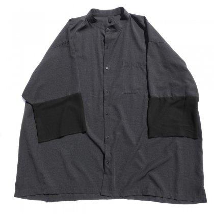 古着 通販 ピンプスティック【pimpstick】スーパービッグシルエットリメイク シャツ
