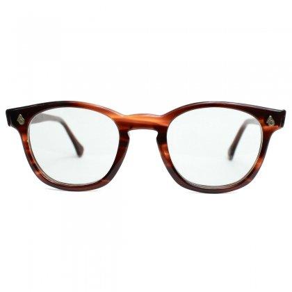 古着 通販 アメリカンオプティカル ヴィンテージ メガネ【American Optical】【1960's-】FLEXI FIT セーフティ Amber