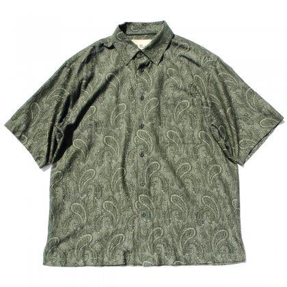 古着 通販 ヴィンテージ アートプリント シャツ【Vintage Silk】【1980's-】 ペイズリー
